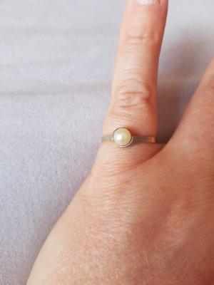 Perlenring in Gold 333 mit Süßwasserperle, Ringgröße 55