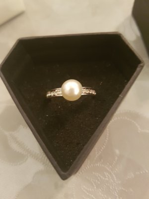 Thomas Sabo Ring white-silver-colored