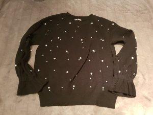 Perlenstrick Pullover