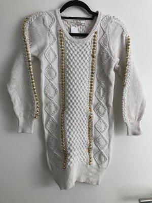 BELLA Maglione oro-bianco sporco