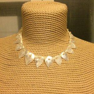 Perlmutt Kette mit echten Perlen top Zustand