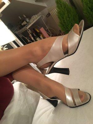 High Heel Sandal silver-colored