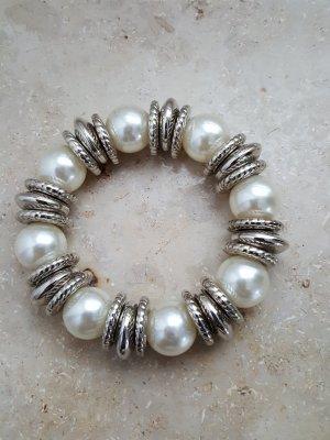 Perlmutt- Silber- Armband von Bijou Brigitte
