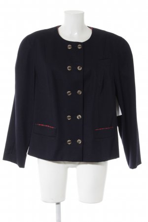 Perry City Wool Blazer dark blue country style