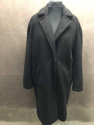 Amisu Manteau d'hiver noir