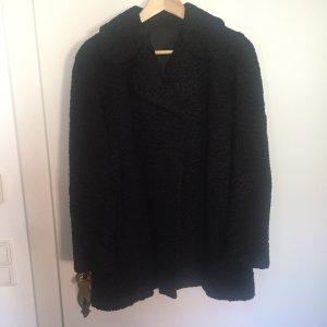 Vintage Pelzen jack zwart