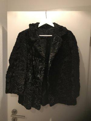 Persianer Jacke schwarz Vintage
