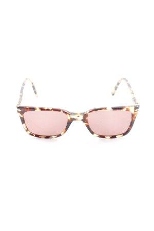 Persol Vierkante bril veelkleurig casual uitstraling