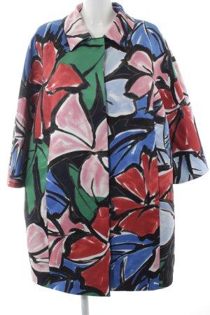 Persona by Marina Rinaldi Long Blazer abstract pattern casual look