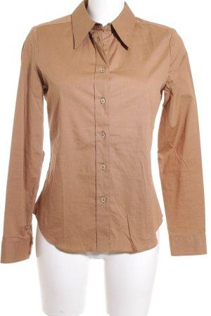 Personal Affairs Camicia blusa marrone chiaro stile professionale