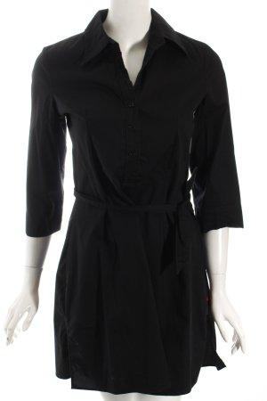 Personal Affairs Hemdblusenkleid schwarz sportlicher Stil