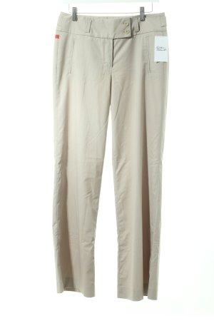 Personal Affairs Pantalone jersey marrone-grigio stile professionale