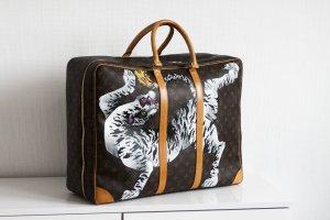 Personalisierter Louis Vuitton Koffer Sirius 55