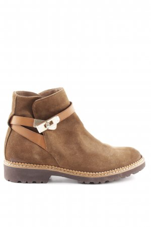 Pertini Ankle Boots bronzefarben Casual-Look
