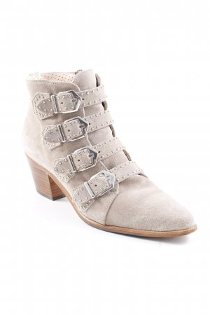 Pertini Ankle Boots hellbeige Casual-Look