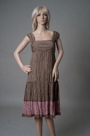 Peruvian Connection Seiden-Kleid in Größe 36