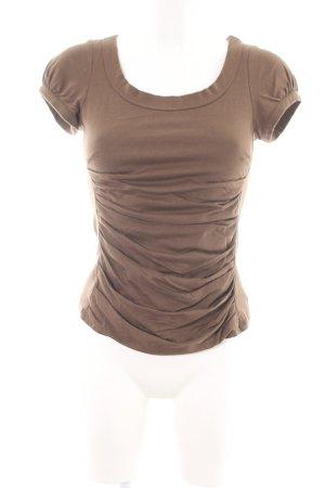 Peruvian Connection T-Shirt braun Casual-Look