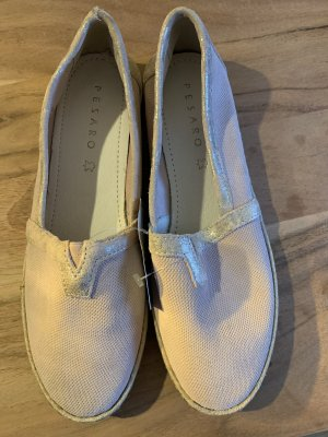 Pesaro Espadrille Sandals pink-silver-colored