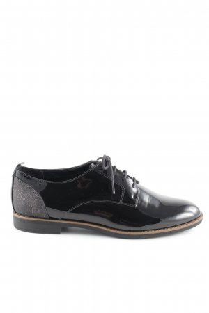 Pesaro Oxford schwarz-goldfarben Business-Look
