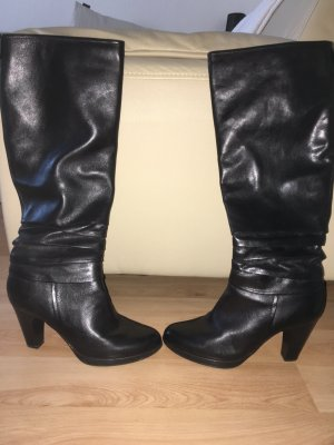 Pesaro Heel Boots black leather