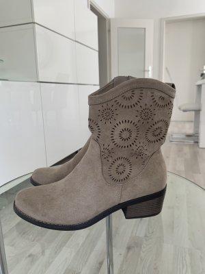 Pesaro Botas estilo vaquero marrón grisáceo-beige