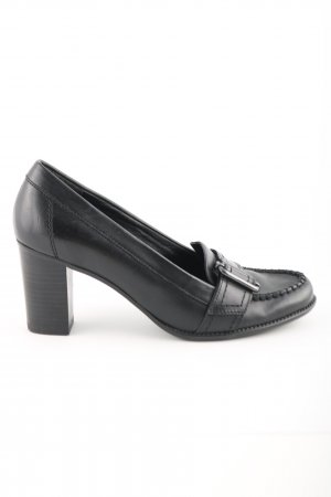 Pesaro Zapatos Informales negro estilo «business»