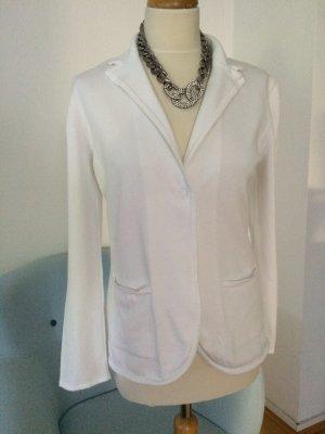 Peserico Blazer weiß /Baumwolle Größe 46 Italy