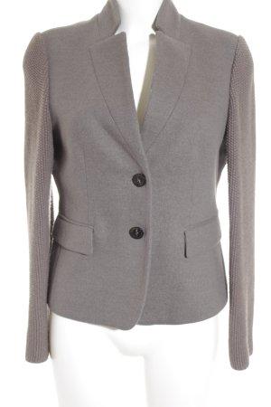 Peserico Woll-Blazer grau-taupe Business-Look