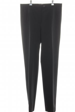 Peserico Woolen Trousers black business style