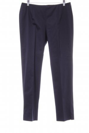 Peter Hahn Pantalone da abito blu scuro stile professionale