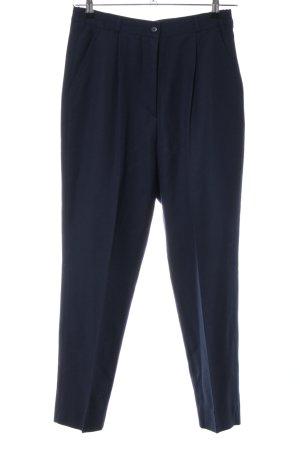 Peter Hahn Pantalón de pinza azul estilo «business»