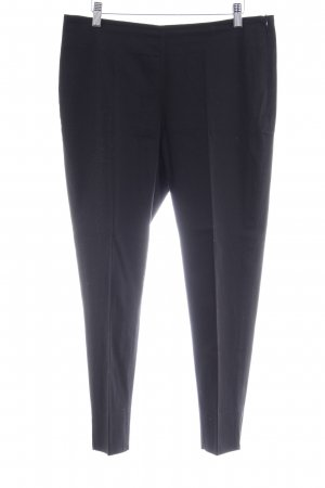 Peter Hahn Pantalon à pinces noir