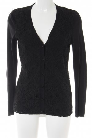 Peter Hahn Cardigan schwarz Casual-Look