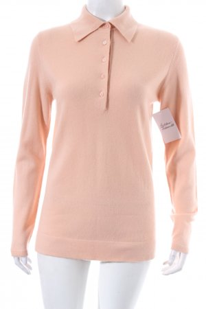 Peter Hahn Cashmerepullover apricot Casual-Look