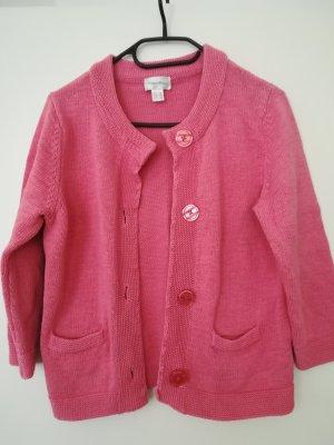 Peter Hahn Giacca di lana rosa