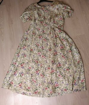 Peter Hahn Exclusiv Collection echtes Vintage Seidenkleid! Gr. 44