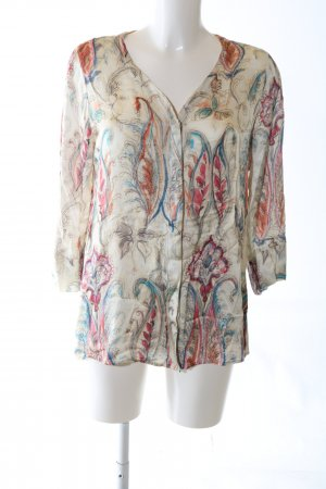 Peter Hahn Splendor Blouse abstract pattern elegant