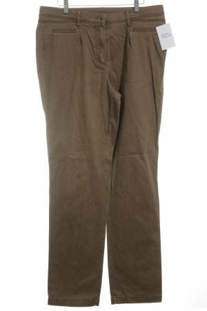 Peter Hahn Low-Rise Trousers beige casual look