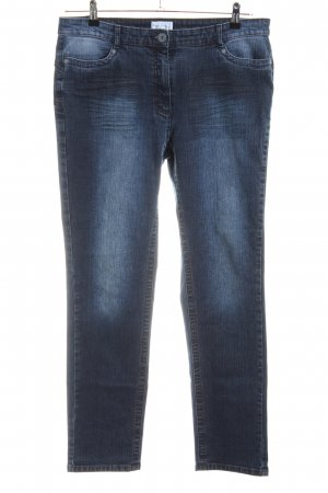 Peter Hahn Jeans a carota blu stile casual