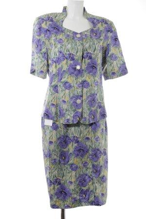 Peter Hahn Kostüm florales Muster Elegant