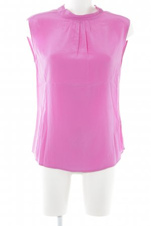 Peter Hahn Kurzarm-Bluse pink Casual-Look
