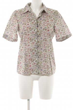 Peter Hahn Short Sleeve Shirt floral pattern street-fashion look