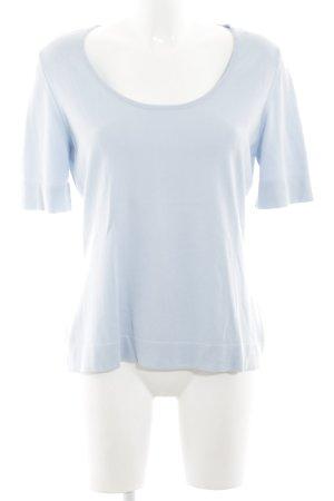 Peter Hahn Strickshirt blau Casual-Look