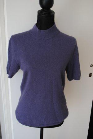Peter Hahn Maglione a maniche corte viola-grigio-lilla