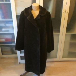 Peter Hahn Pelt Coat black brown-dark brown fur