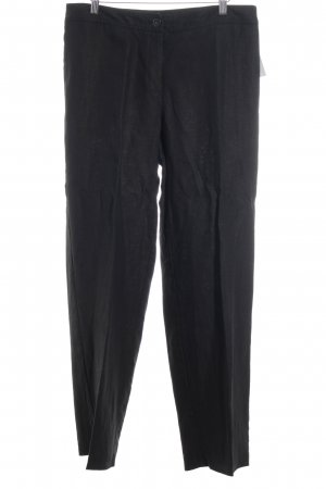 Peter Hahn Leinenhose anthrazit Casual-Look