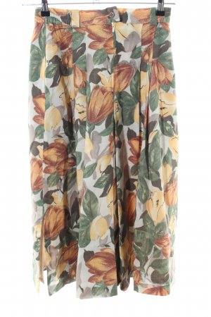 the cheapest hot sale online factory outlets Peter Hahn Midi Skirt flower pattern casual look