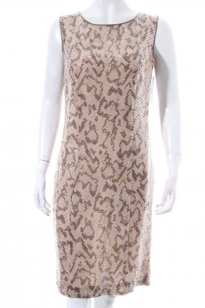 Peter Hahn Pailettenkleid beige-hellbeige Party-Look