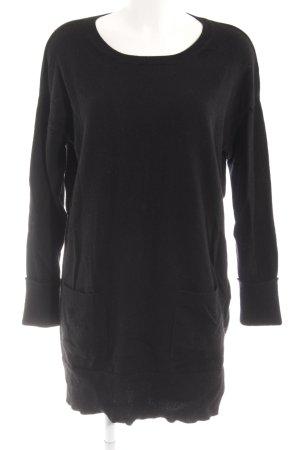 Peter Hahn Pulloverkleid schwarz Casual-Look