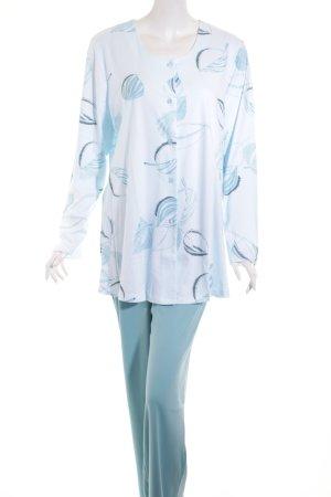 Peter Hahn Pyjama florales Muster Casual-Look